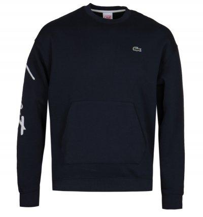 Lacoste LIVE Navy Logo Sweatshirt