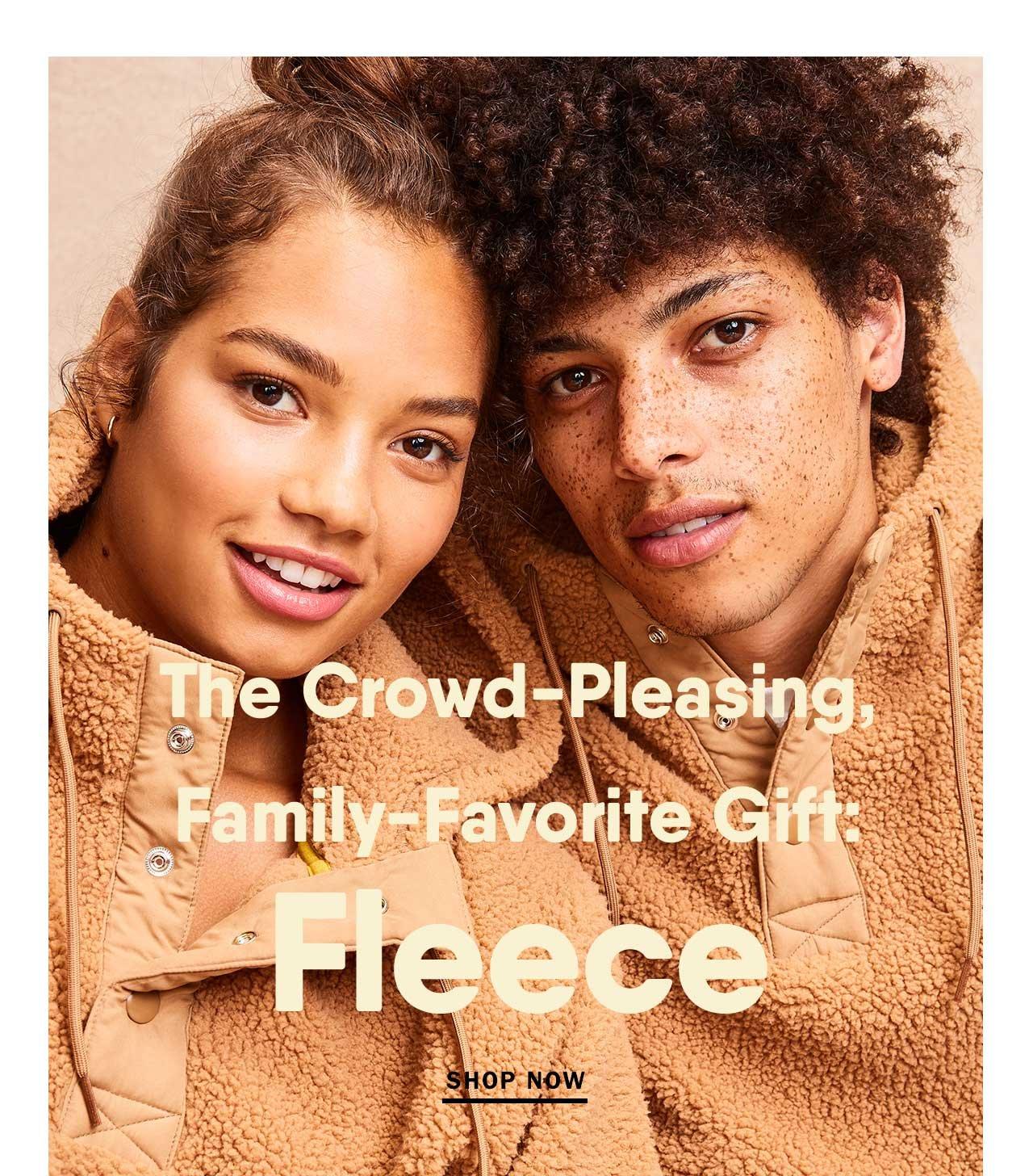 The crowd-pleasing, family-favorite gift: Fleece