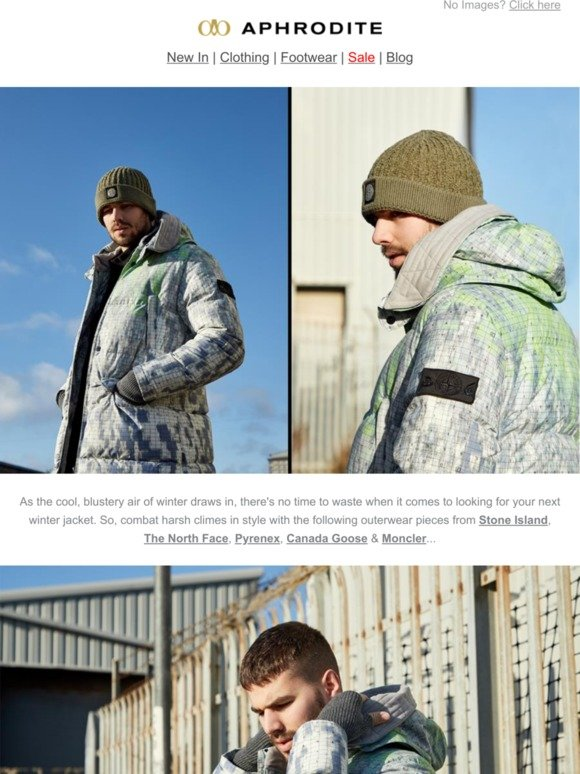 Aphrodite Clothing: The Best of Winter Jackets ❄️ | Milled