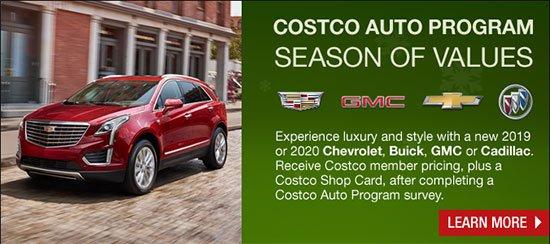 Season of Values with the Costco Auto Program