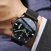 Men's Dress Watch Quartz Modern Style Sty...