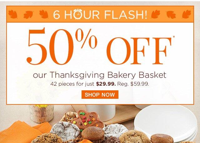 Thanksgiving Bakery Basket