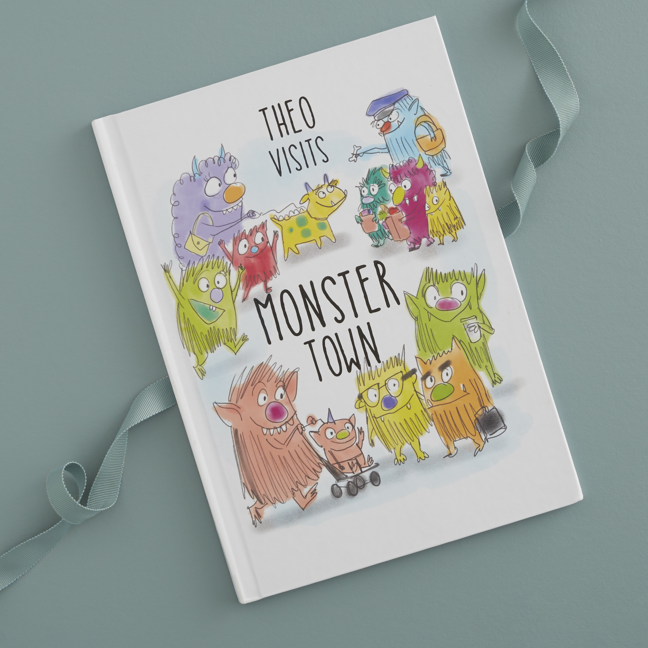 Personalized Monster Town Adventure Book