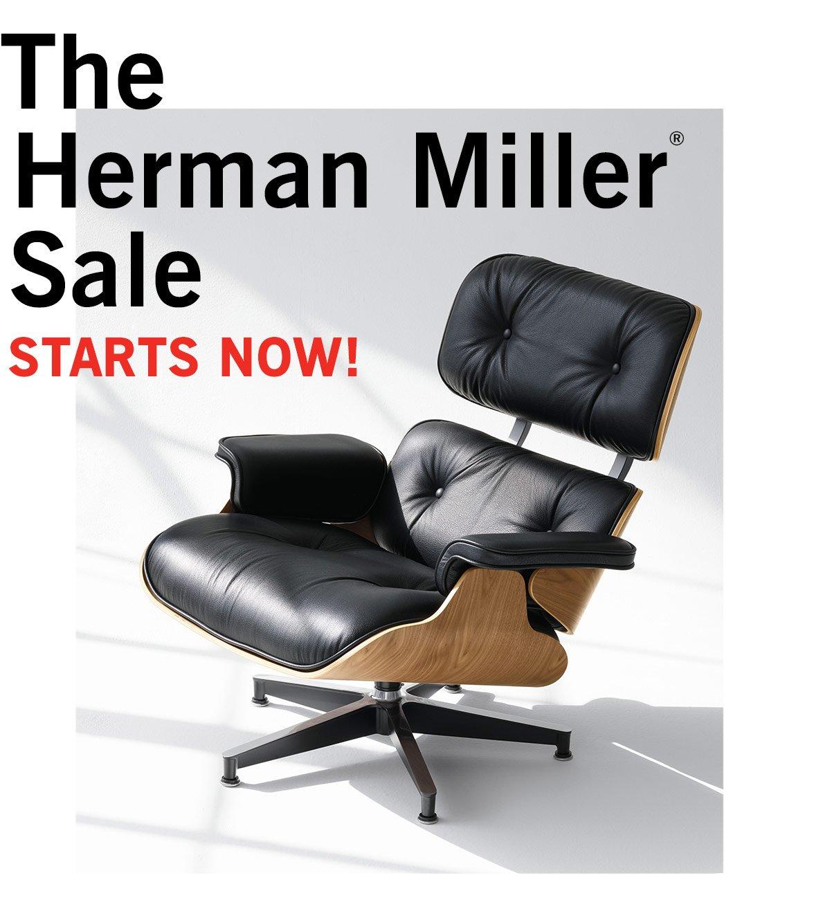 The Herman Miller® Sale STARTS NOW!
