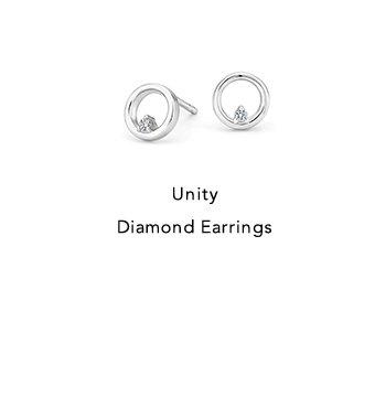 Unity Diamond Earrings