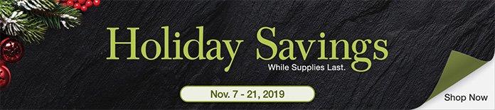 Pre-Pre Holiday Savings