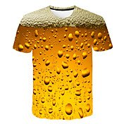 Men's Daily Weekend Basic / Street chic T...