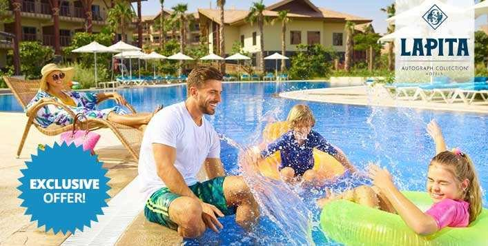 Pool access with 20% F&B discount at Lapita