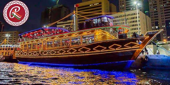 Ramee Creek Dhow Cruise with Dinner Buffet