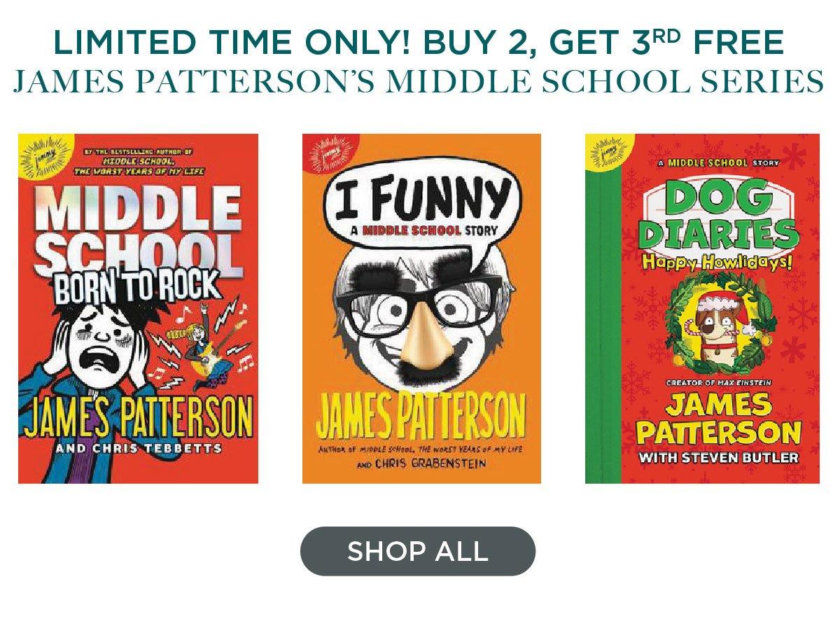 Buy 2, Get 3rd Free Middle School Series