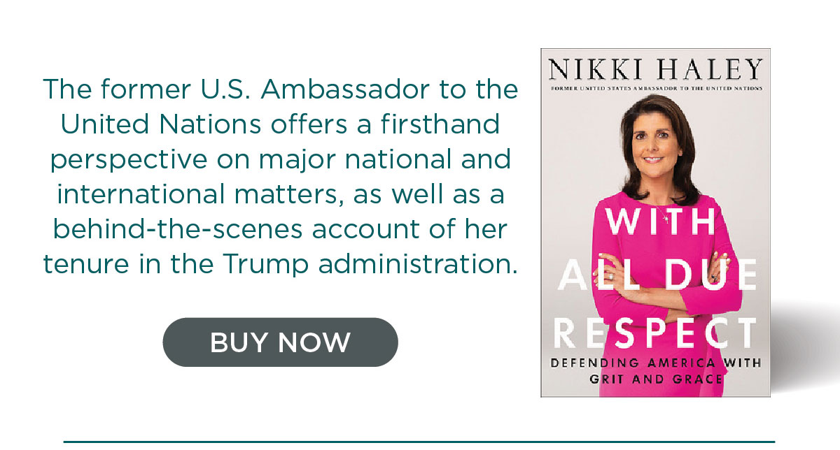 With All Due Respect by Nikki Haley