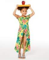 Toddler Girls Floral-Print Walkthrough Romper Dress