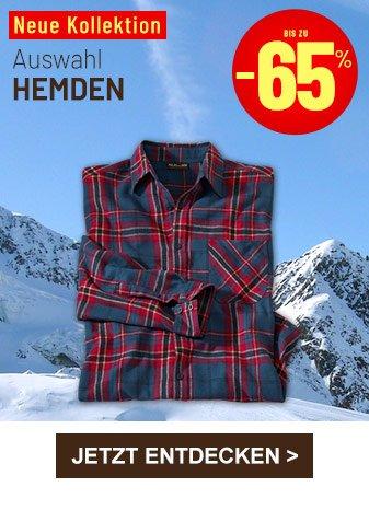 Hemden bis zu minus 60 prozent