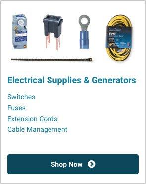 Electrical Supplies & Generators | Shop Now