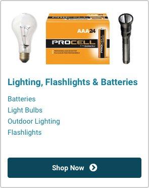 Lighting, Flashlights & Batteries | Shop Now