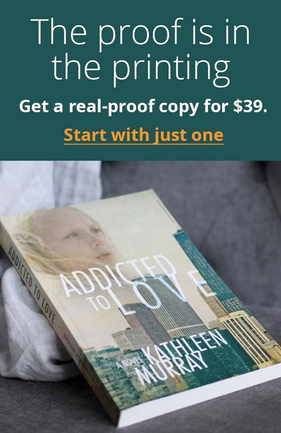 The proof is in the printing. Get a real-proof copy for $39.