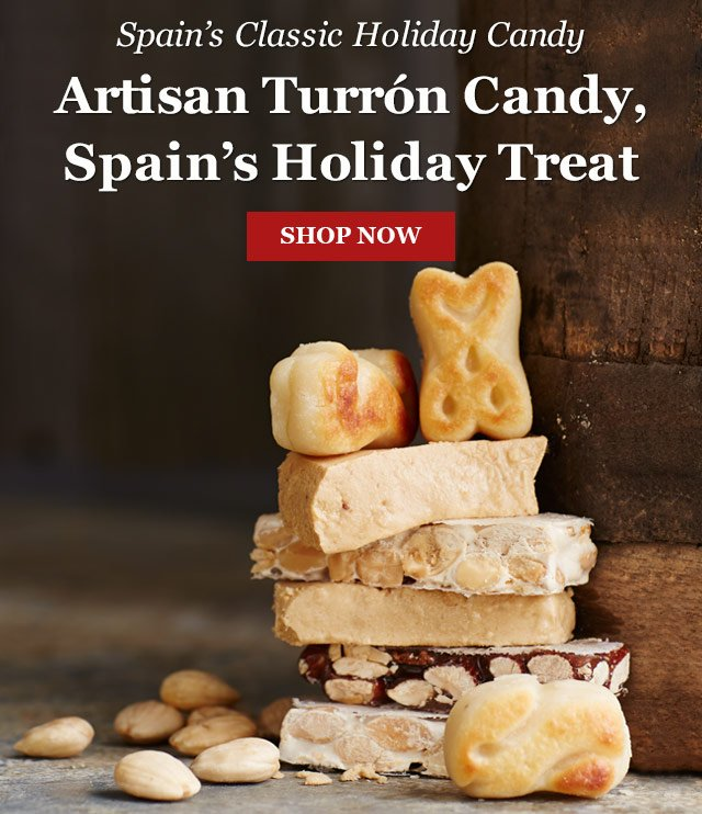 Spain's Classic Holiday Candy - Artisan Turron Candy, Spain's Holiday Treat