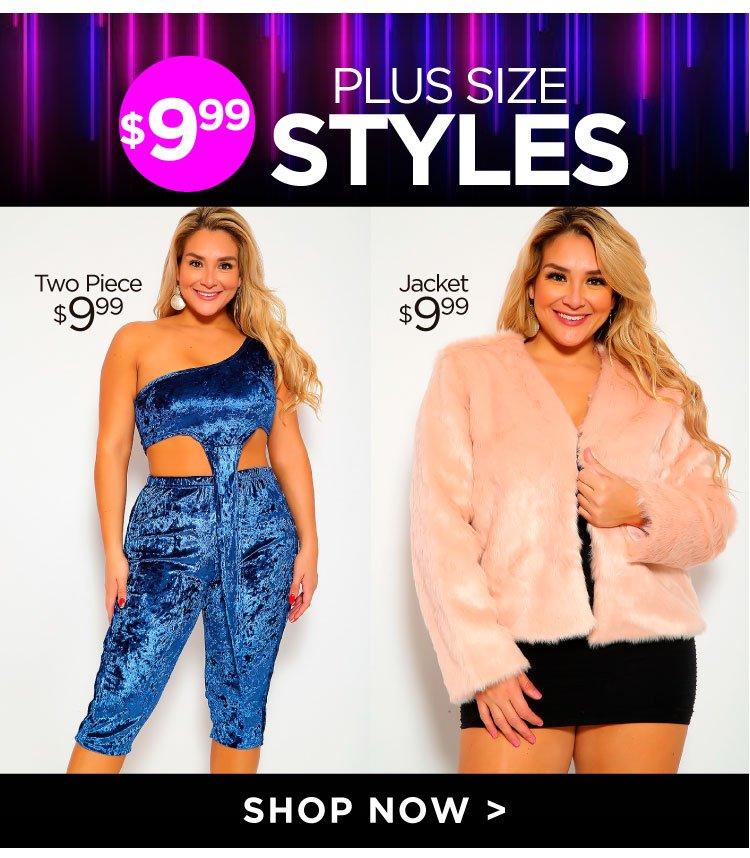 Shop Plus size Styles Under $9.99
