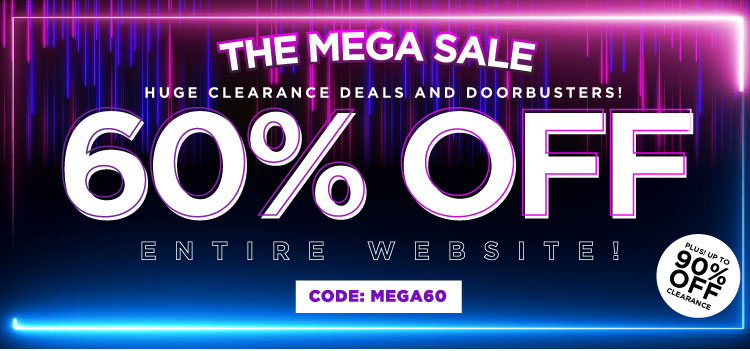 Shop the Sale 60% off