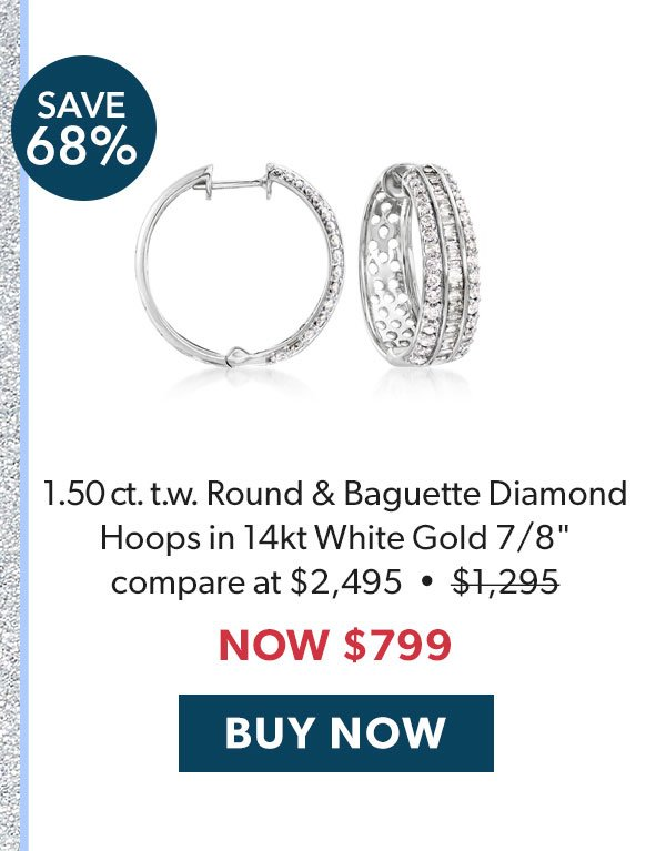 Diamond Hoops. Buy Now