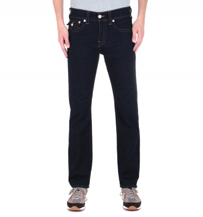 True Religion Ricky Flap Relaxed Straight Fit Navy Denim Jeans