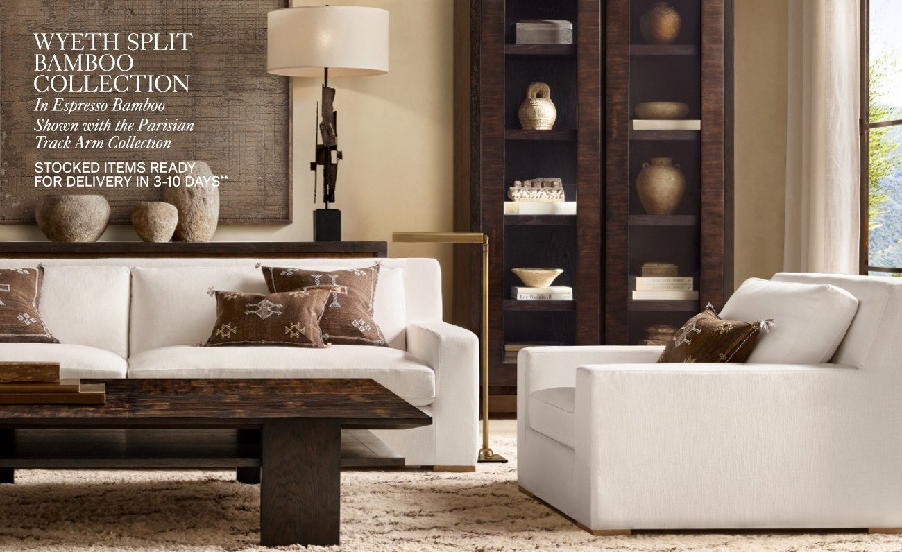 the wyeth split bamboo collection in espresso and weathered grey finishes tcLh6H4C8pz2ihpc