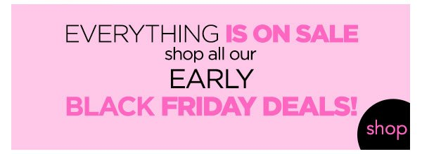 Shop the Early Black Friday Sale! - Turn on your images