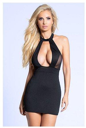 Open Secret Mini Dress