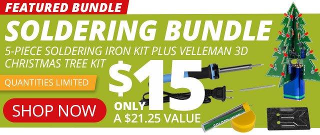 Featured Soldering Bundle—Shop Now!