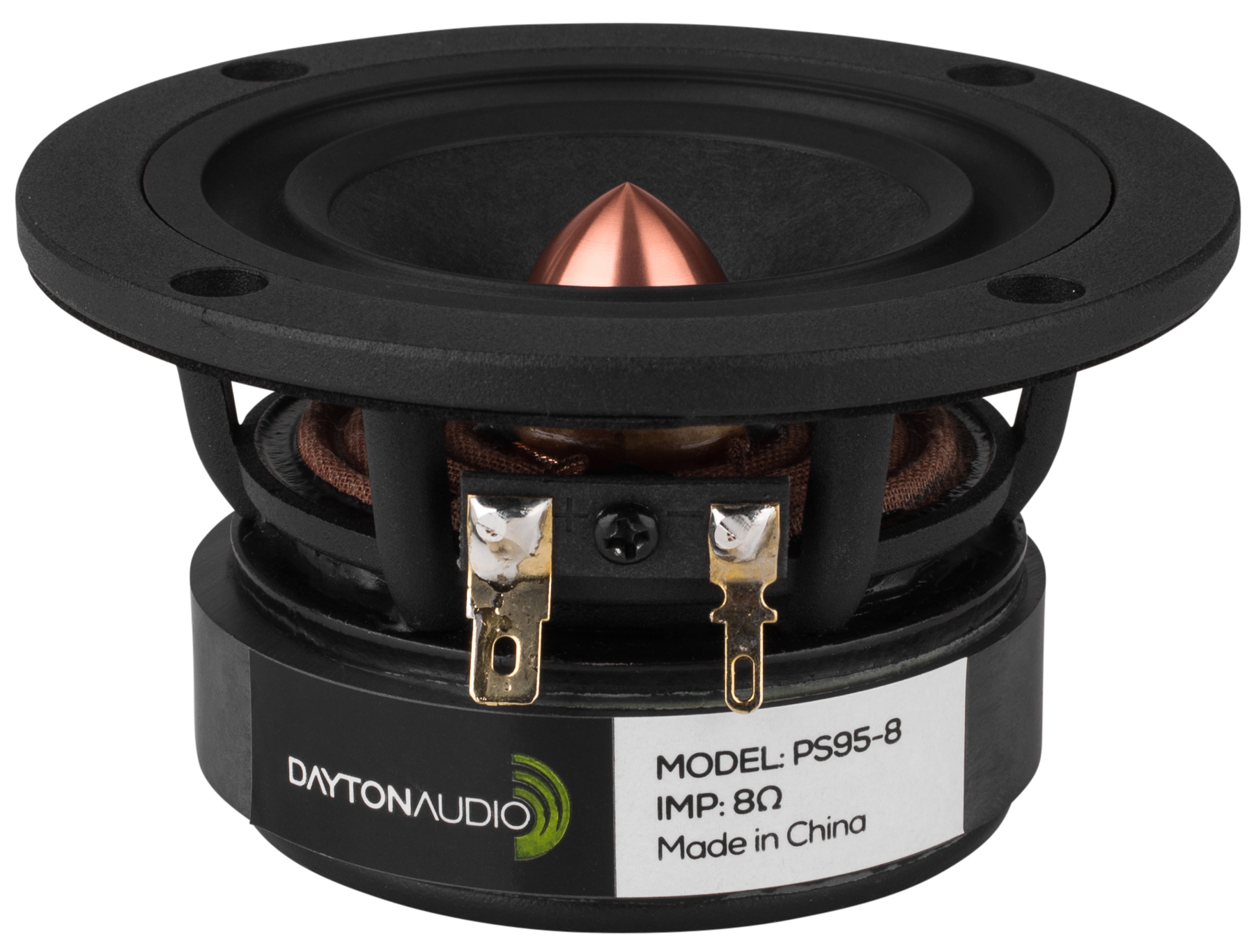 Dayton Audio PS95-8 3.5-in Point Source Full Range Driver 8 Ohm