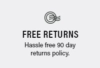 Free 90 Day Returns
