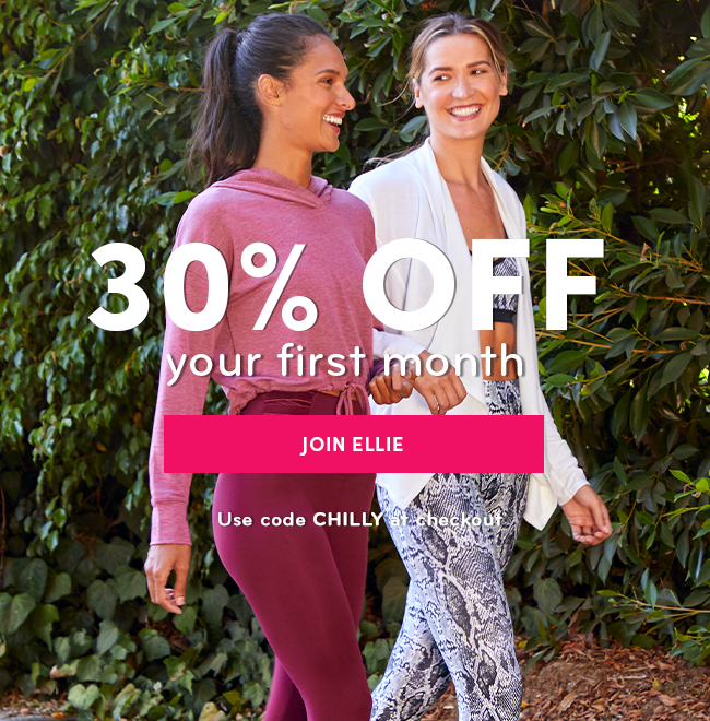25% Off Your First Month - JOIN ELLIE