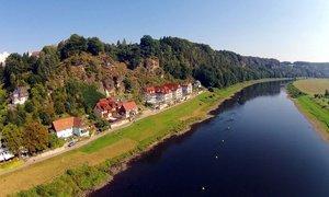 Sächsische Schweiz: Komfort-Doppelzimmer mit Frühstück und Spa