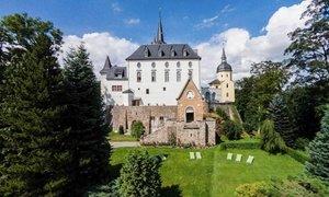 Erzgebirge: Doppelzimmer inkl. Dinner und Sekt im Schlosshotel