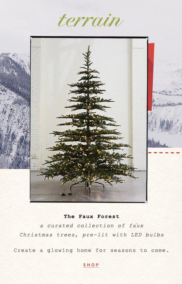 Shop Terrain faux trees.