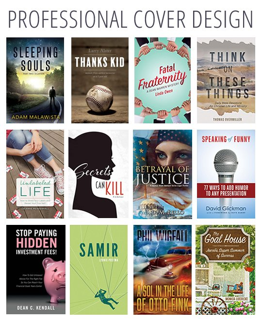 Get printed cover design and your eBook cover is free.