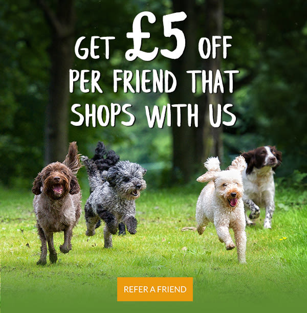 Get £5 off per friend that shops with us