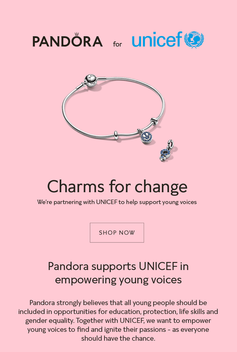 charms chance pandora