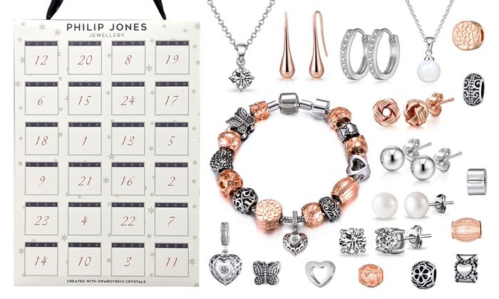 Groupon UK: Philip Jones Dazzling Jewellery with crystals from ...
