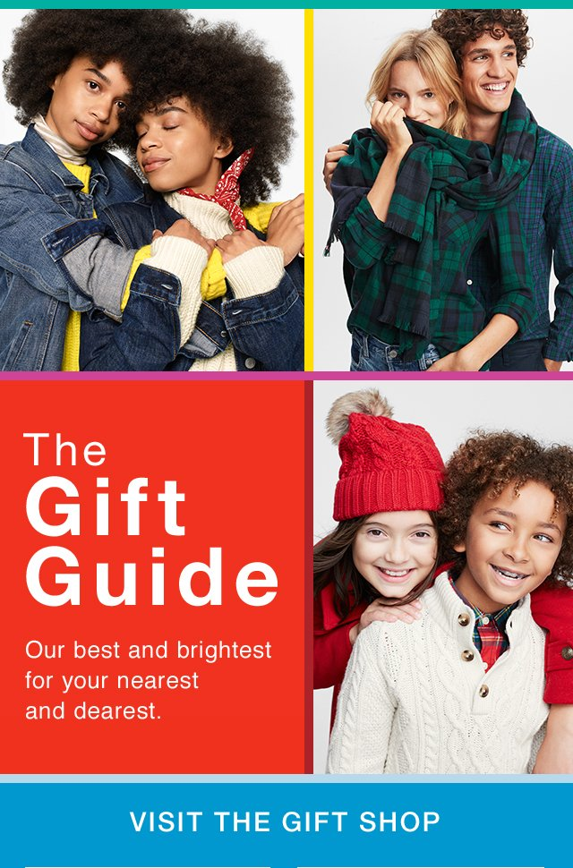 The Gift Guide | Our best and brightest for your nearest and dearest. | VISIT THE GIFT SHOP
