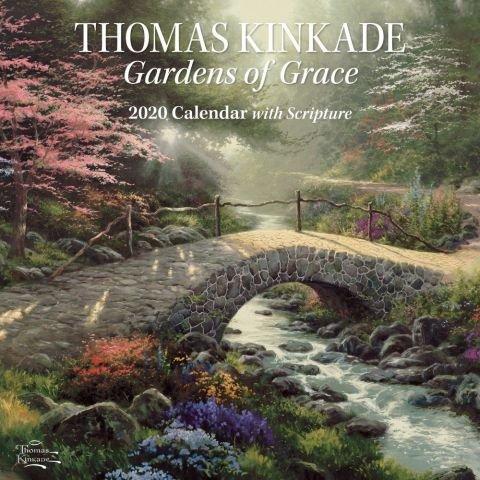 Kinkade Gardens of Grace Wall Calendar