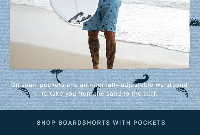 Shop Mens Boardshorts With Pockets   Hero 1b