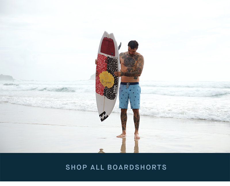 Shop Mens Boardshorts With Pockets   Footer Img