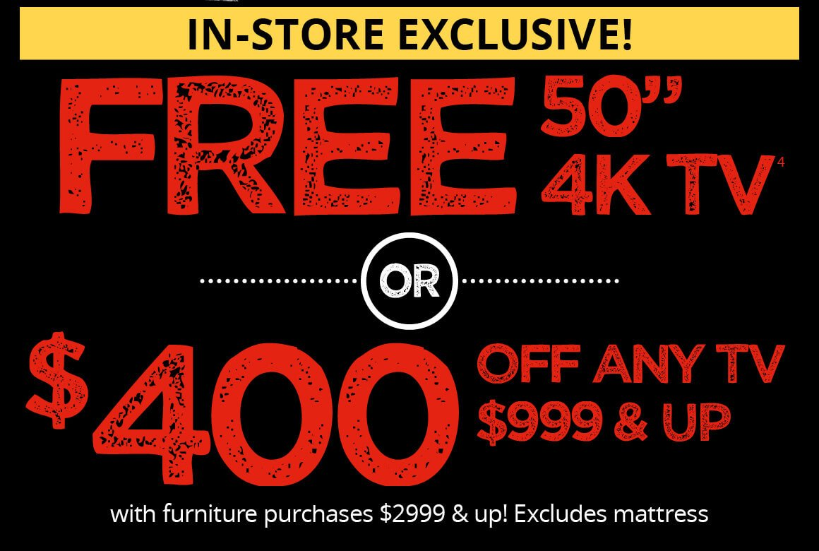 """In Store Exclusive 