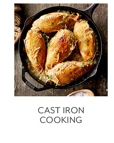 Class: Cast Iron Cooking
