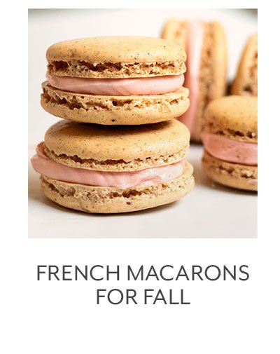 Class: French Macarons for Fall