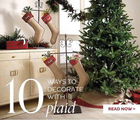 10 Ways to Decorate With Plaid   READ NOW