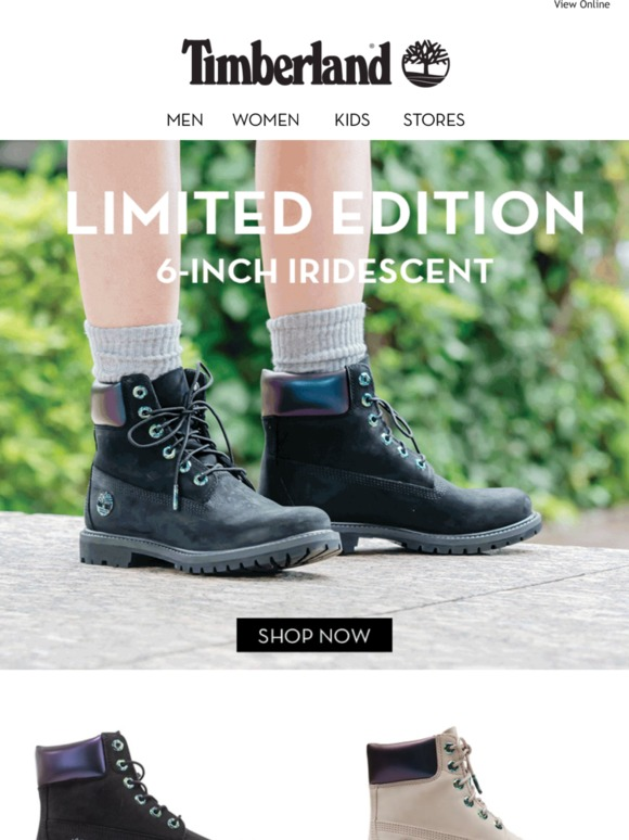 Timberland AU: New Women's 6 Inch Iridescent Boots Milled  Milled