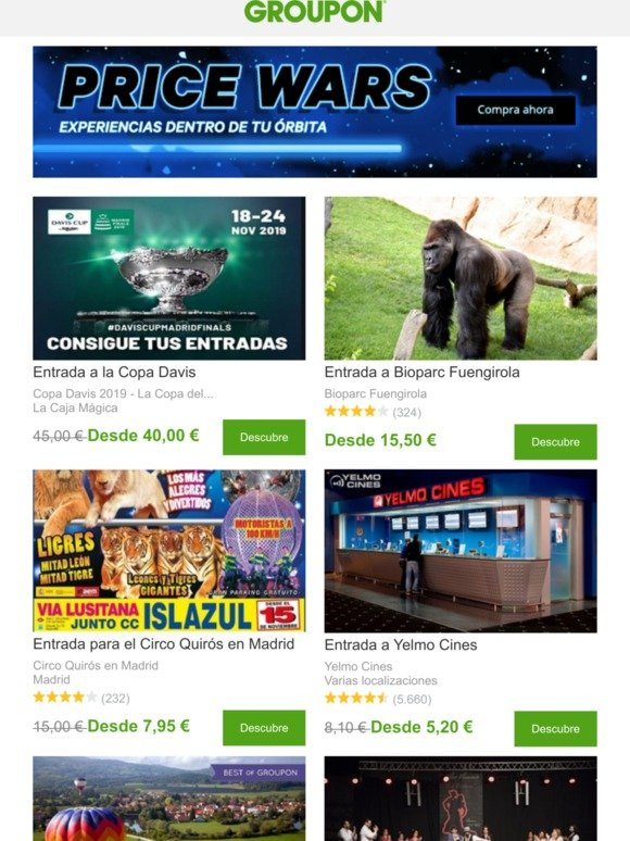 Groupon Email Newsletters Shop Sales Discounts And Coupon Codes Page 57