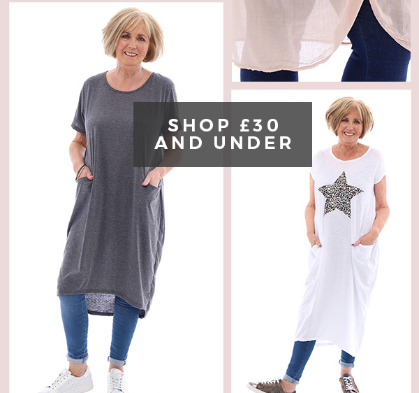 Shop £30 And Under